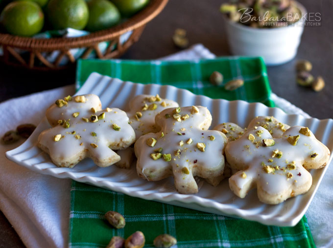 Featured Image for post Pistachio Key Lime Shortbread Cookies