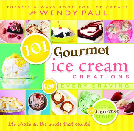 Cover photo of 101 Gourmet Ice Cream Creations