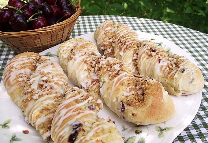 Cherry Almond Cheesecake Twist Recipe