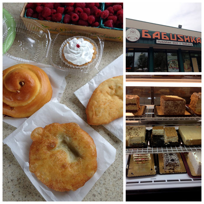 Collage of Babushka Russian Deli and Bakery