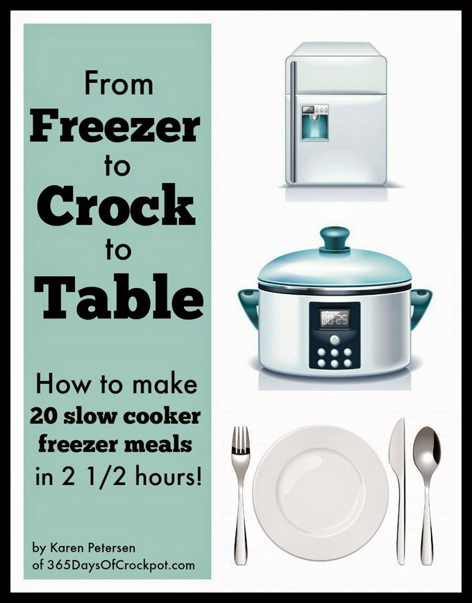 Featured Image for post From Freezer to Crock to Table ebook Giveaway