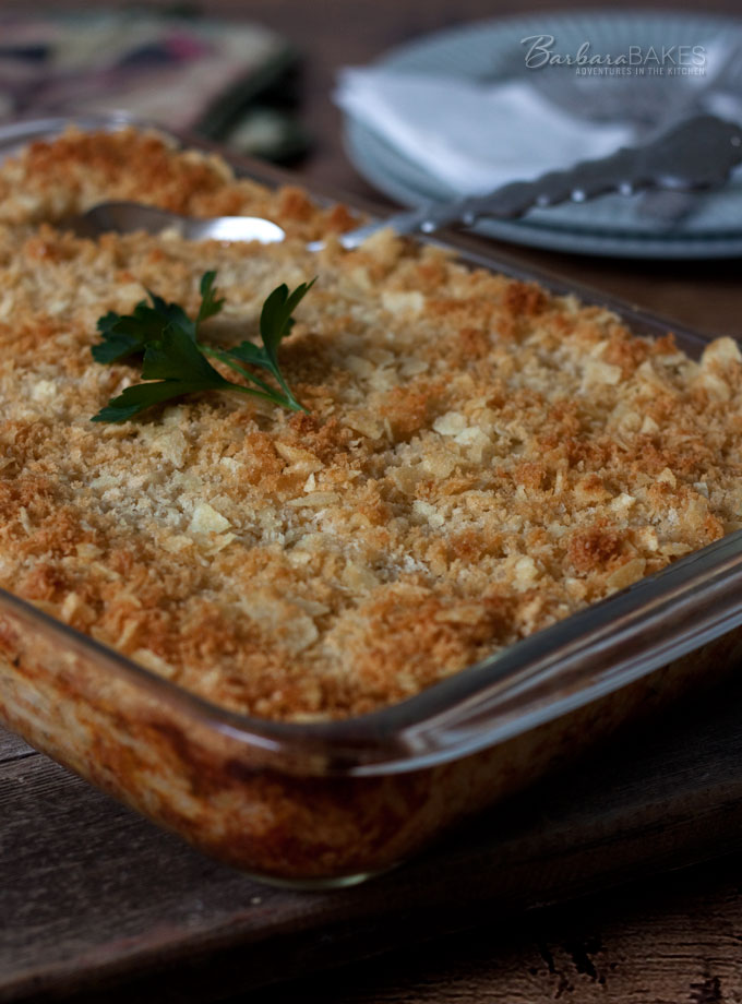 Funeral Potatoes – A Cheesy Hash Brown Casserole Recipe from Barbara Bakes