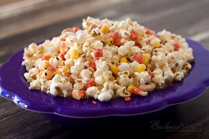 Featured Image for post Candy Corn Popcorn for Halloween