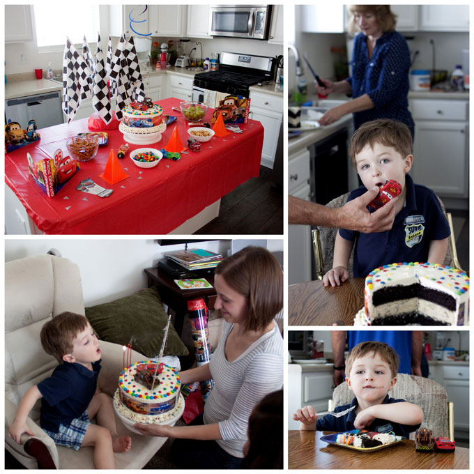 A Cars Birthday Party