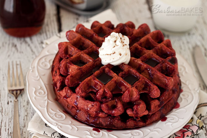 Featured Image for post Red Velvet Waffles