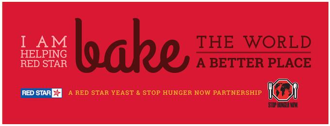Stop Hunger Now #BakingTheWorldBetter