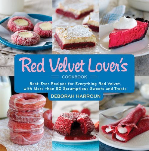 Red Velvet Lovers Cookbook by Deborah Harroun
