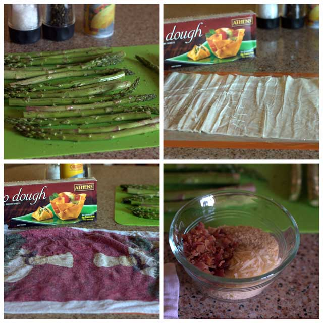 Asparagus-Wrapped-with-Parmesan-Bacon-Phyllo-Collage-1-Barbara-Bakes
