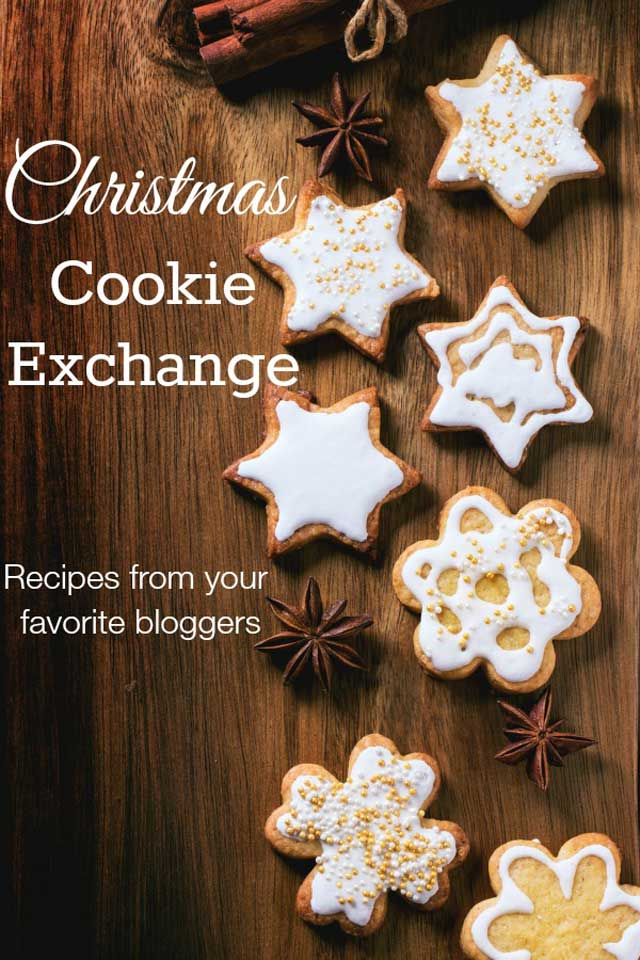 Christmas Cookie Exchange - Recipes from your favorite bloggers