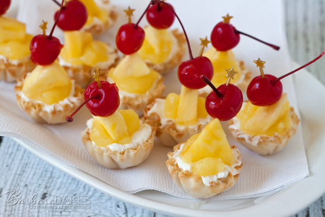 Featured Image for post No-Bake Pina Colada Cheesecake Bites