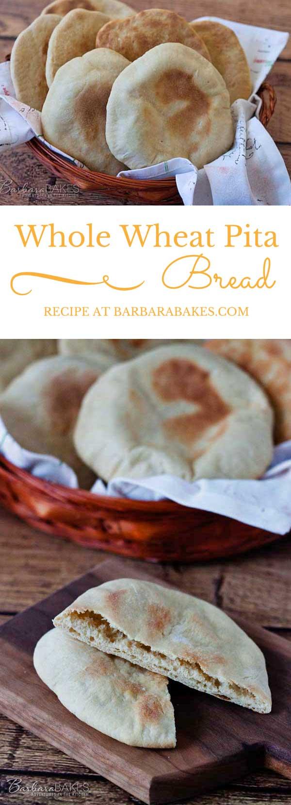 Whole-Wheat-Pita-Bread-Collage-Barbara-Bakes