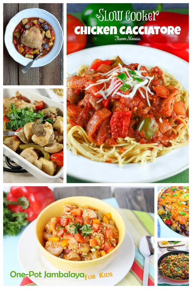 Collage of Healthy-One-Pot-Chicken-Dishes