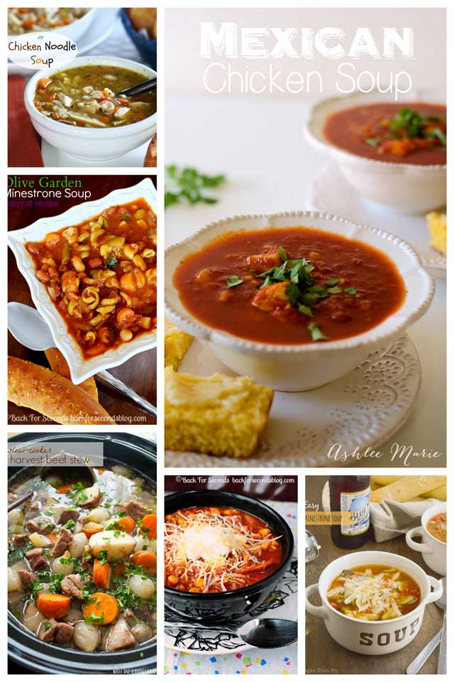 Collage of Healthy-One-Pot-Soup-Recipes