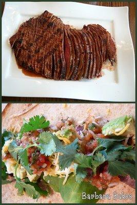 Carne Asada Collage