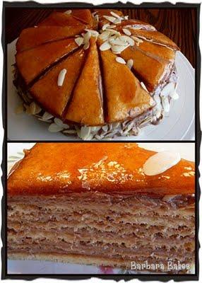 Daring Bakers Dobos Torta