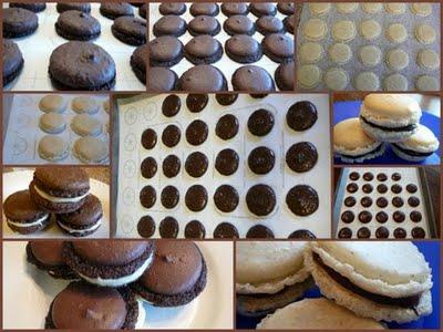 Chocolate Macaron - A Mac Attack Collage