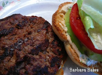 Southwest Chipotle Burgers