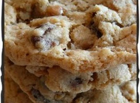Featured Image for post Oatmeal Toffee Cookies