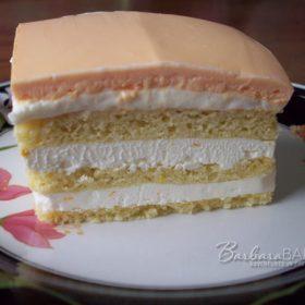 Daring Baker Creamsicle Opéra Cake