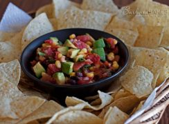 Featured Image for post Corn and Black Bean Salsa