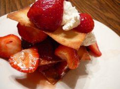 Strawberry-Napoleons