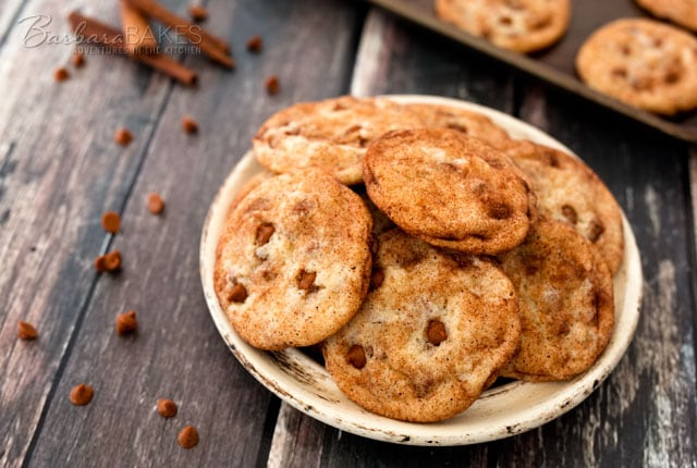 Featured Image for post Cinnamon Chip Snickerdoodles