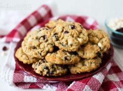 Featured Image for post White Chocolate Cranberry Oatmeal Cookies