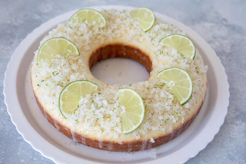 Coconut Lime Coffee Cake