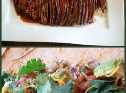 Featured Image Collage for post Carne Asada Tacos