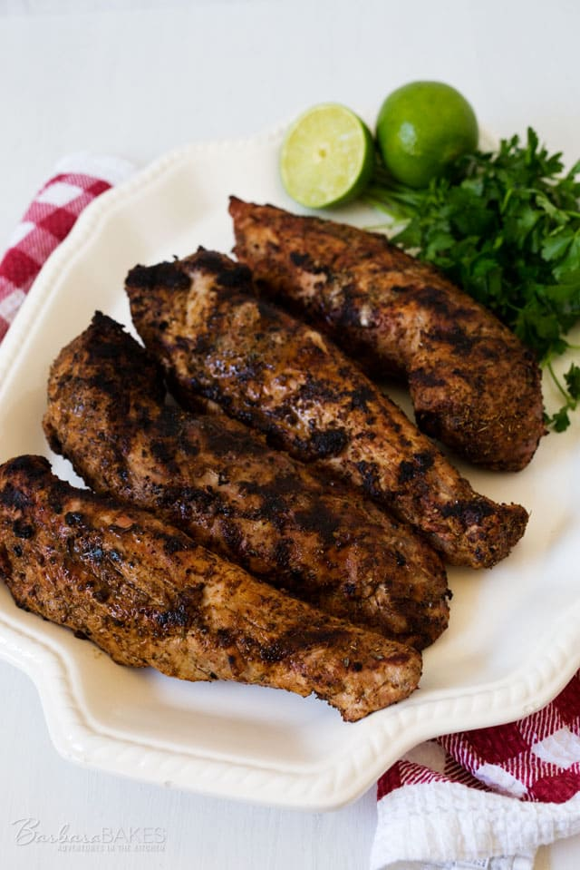 This Spicy Grilled Pork Tenderloin is a family favorite. It\'s has a great flavor and is always tender and juicy.