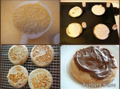 Crumpet collage