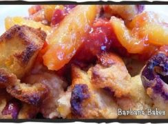 Featured Image for post Raspberry Peach French Toast