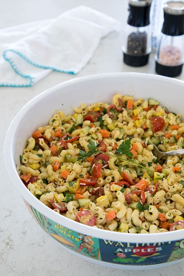 How To Make Perfect Pasta Salad in Five Easy Steps