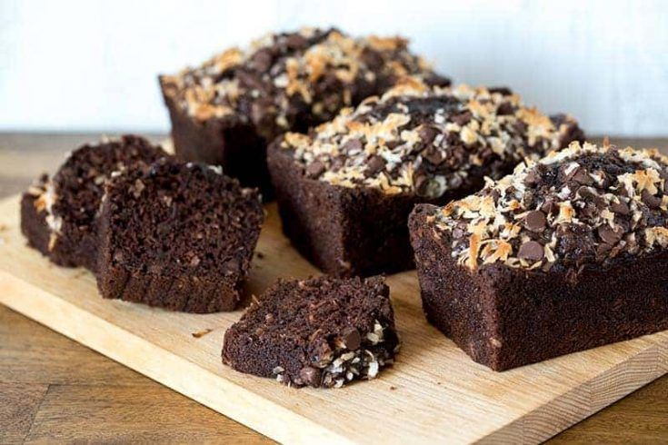 Featured Image for post Chocolate Chip Coconut Chocolate Zucchini Bread