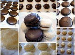 Featured Image Collage for post Daring Bakers Macarons