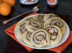 Featured Image for post Orange Nutella Pinwheel Cookies