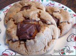 Featured Image for post Cherie's Snickers Peanut Butter Cookies