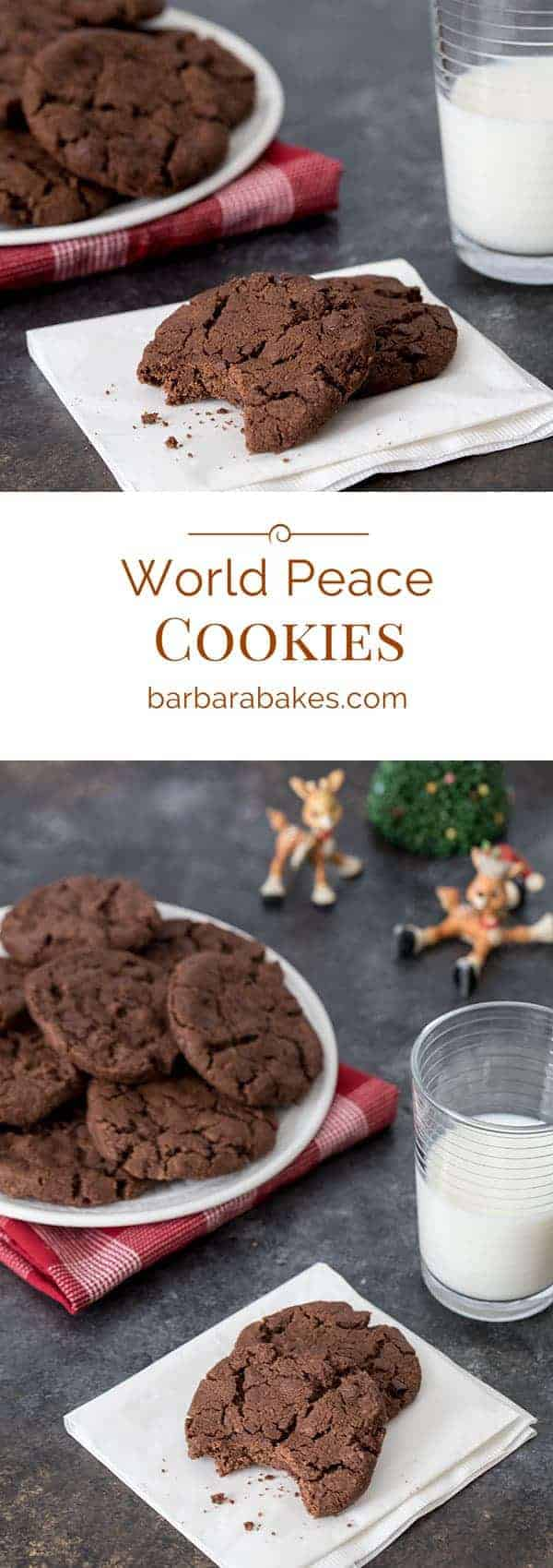 World Peace Cookies titled photo collage