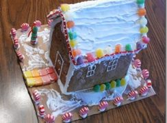 Featured Image for post Daring Bakers' Gingerbread House (ID 164)