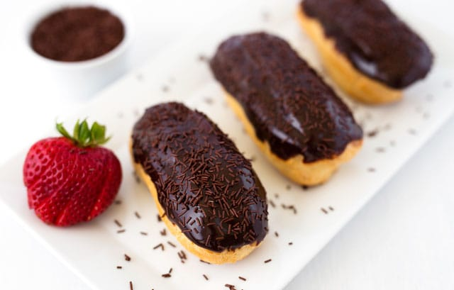 Featured Image for post Chocolate Eclairs