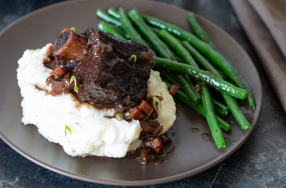 Braised Beef Short Ribs Recipe Barbara Bakes