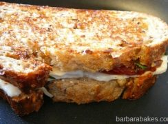 Featured Image for post Roasted Tomato Pasta Caprese and Grilled Cheese Sandwiches for the FSK Café
