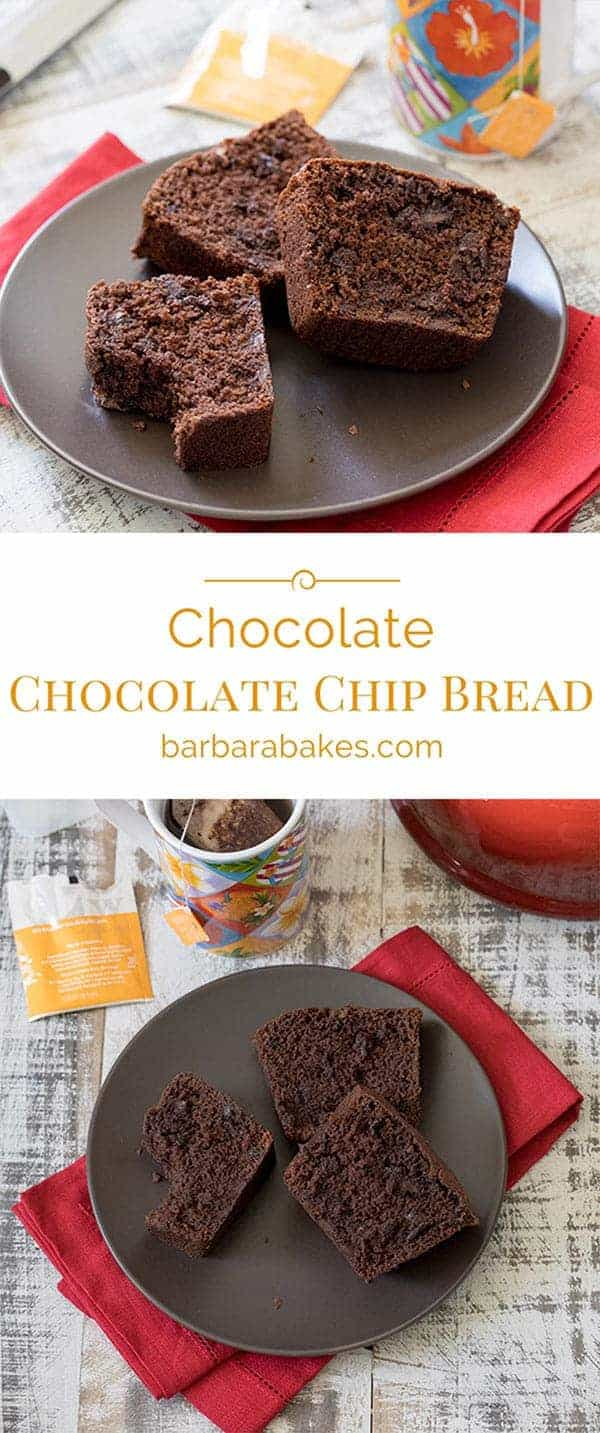 Chocolate Chip Bread Collage
