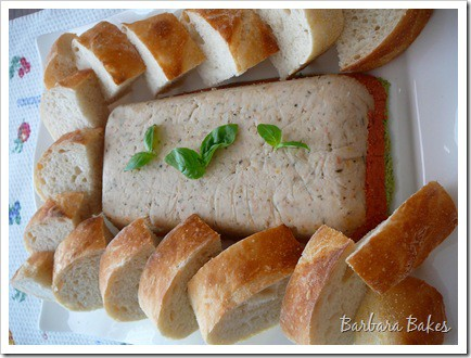 Featured Image for post Daring Cooks Tricolor Vegetable Pâté and Baguettes