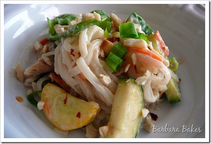 Asian Salad with Cashew Dressing