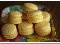 Featured Image for post Buttercup Macarons and Mango Lime Cupcakes