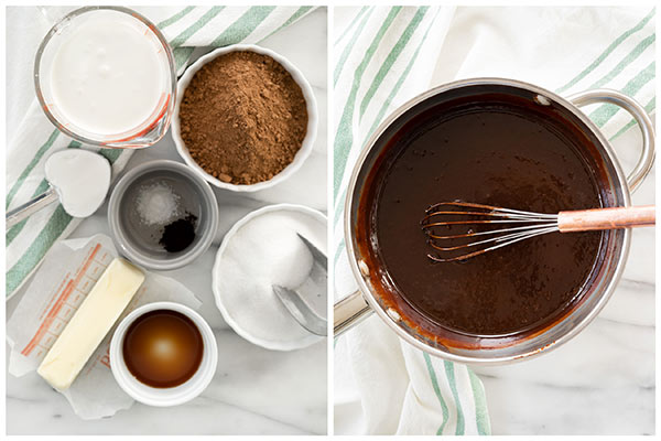 Making-Chocolate-Frosting-Collage