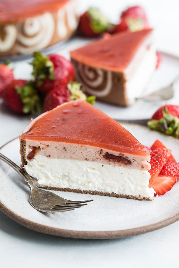 Strawberry Cheesecake Entremet