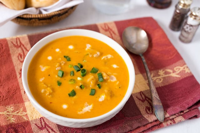 Butternut-Squash-Soup-with-Chicken-and-Orzo-2