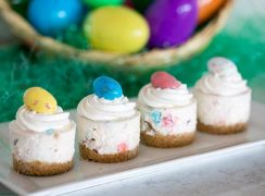 Featured Image for post Robin Eggs No-Bake Cheesecake for Easter